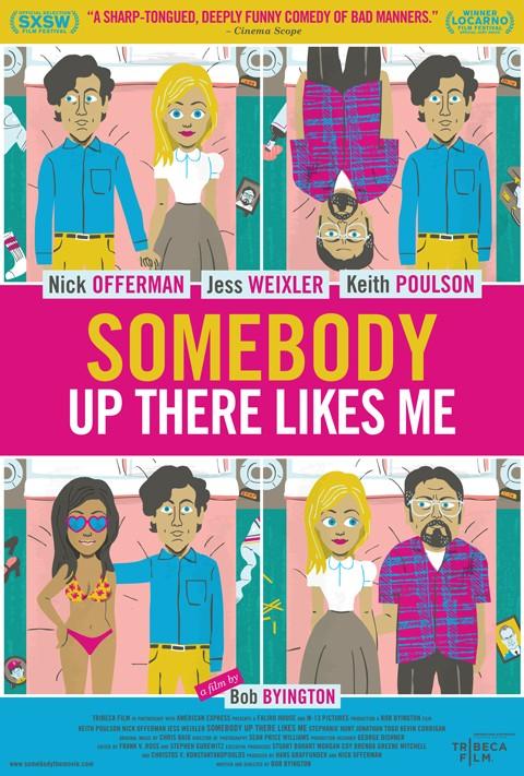 Somebody Up There Likes Me: la locandina del film