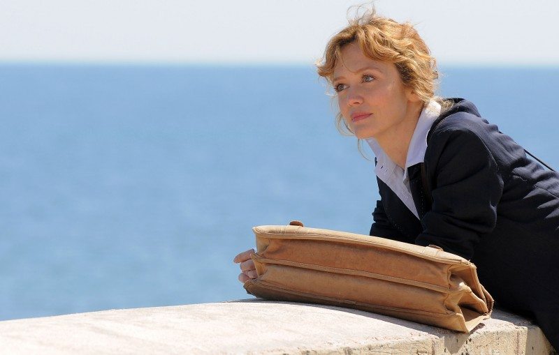Tutta la musica del cuore: Francesca Cavallin in una scena della fiction Rai