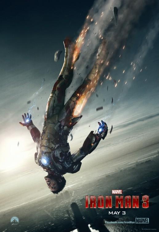 Iron Man 3: un nuovo spettacolare poster