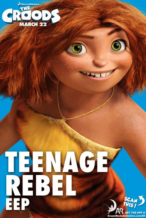 The Croods: Character Poster 1