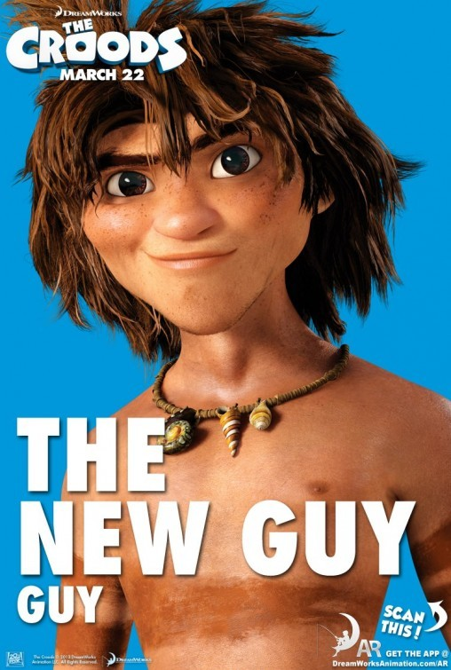 The Croods: Character Poster 2