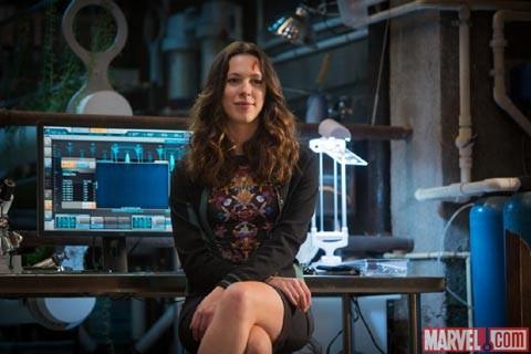 Iron Man 3: Rebecca Hall in un'immagine promozionale