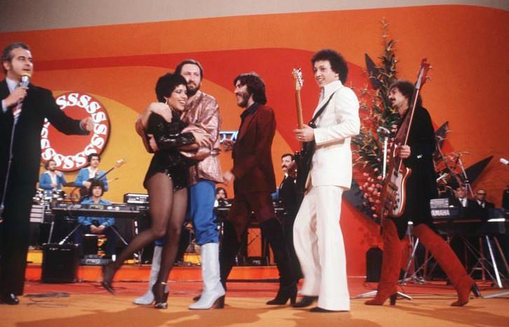 Sanremo 1978 - i Matia Bazar sul palco