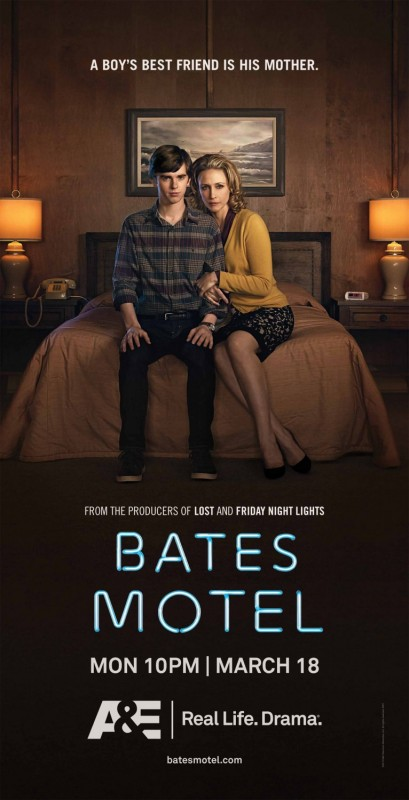 Bates Motel: Un poster della serie TV