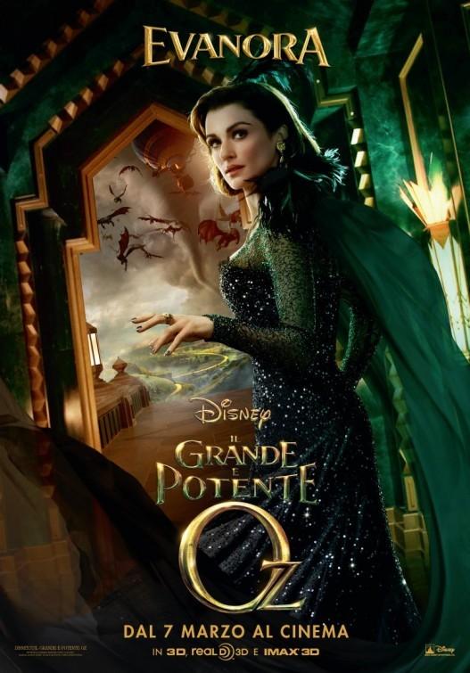 Il grande e potente Oz: character poster italiano per Rachel Weisz