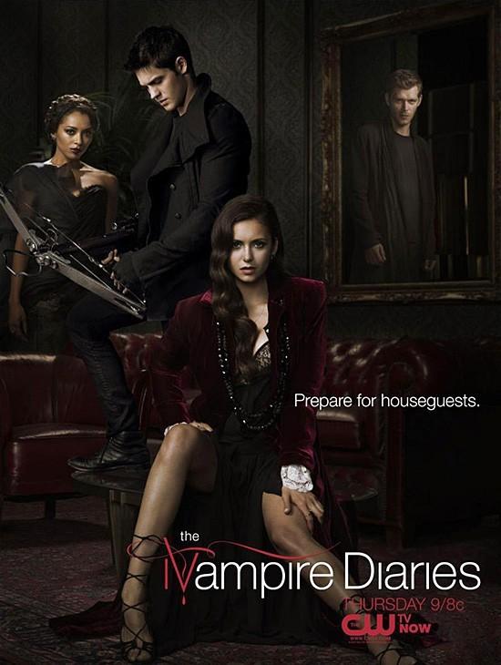 The Vampire Diaries: un poster mid-season della stagione 4