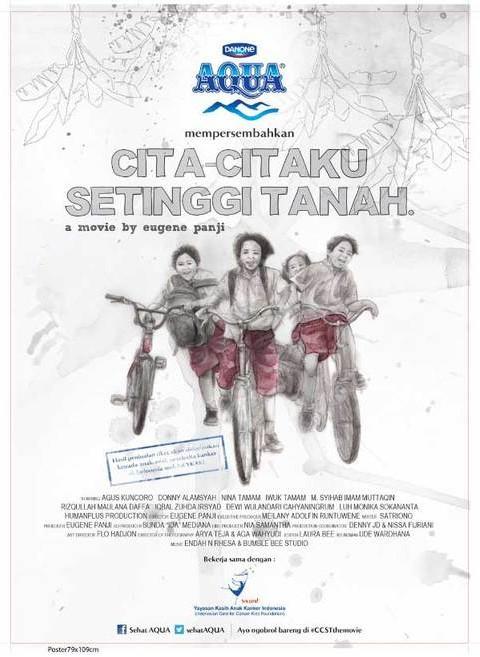 Stepping on the Flying Grass: la locandina del film