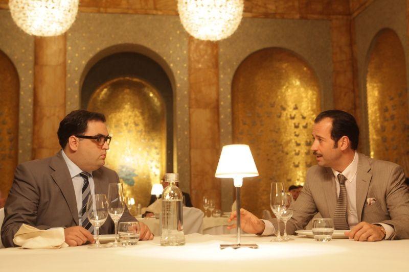 Studio illegale: il protagonista del film Fabio Volo in una scena del film insieme a Nicola Nocella