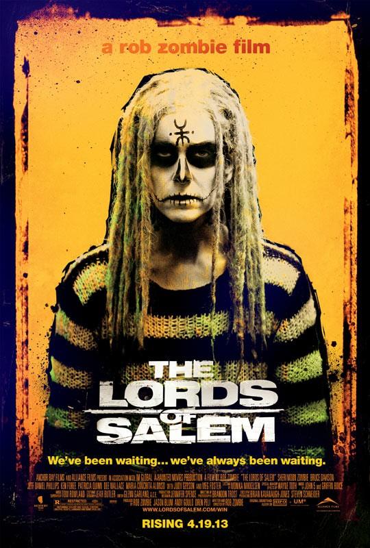 The Lords of Salem: la locandina dell'horror diretto da Rob Zombie