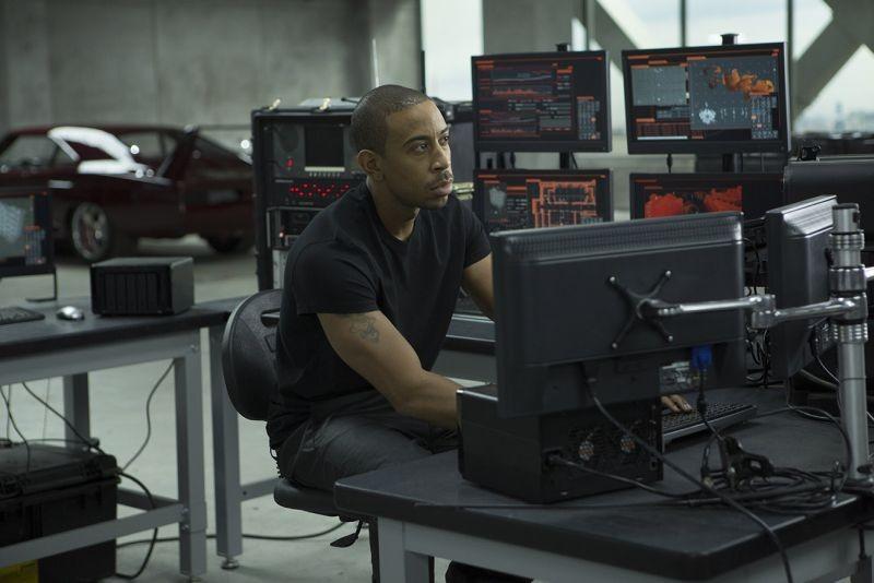 Ludacris in una scena di Fast & Furious 6