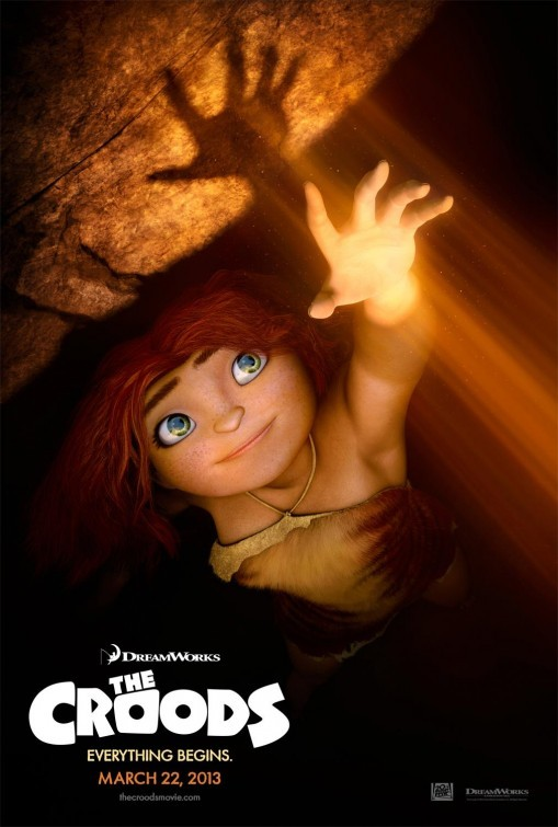 The Croods: nuovo poster USA