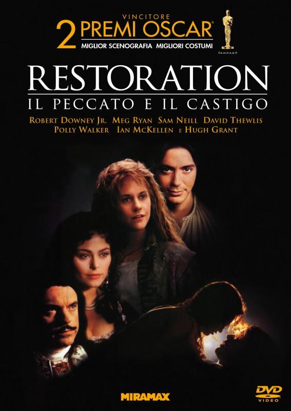 La copertina di Restoration - Il peccato e il castigo (dvd)