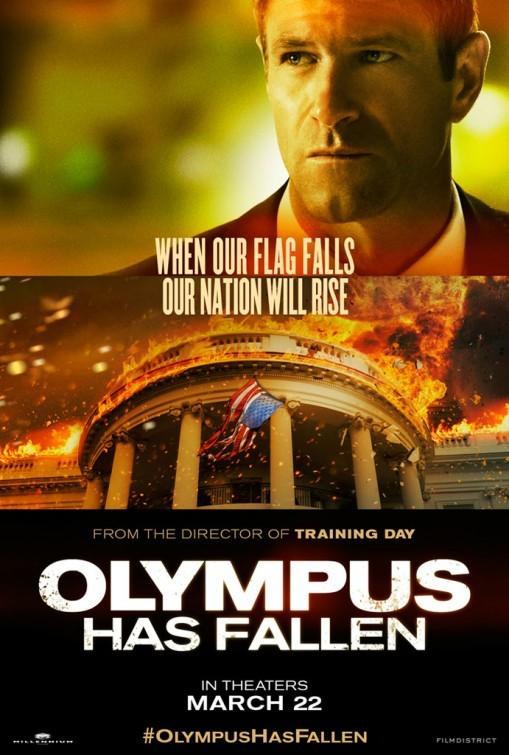 Olympus Has Fallen: Character Poster per Aaron Eckhart