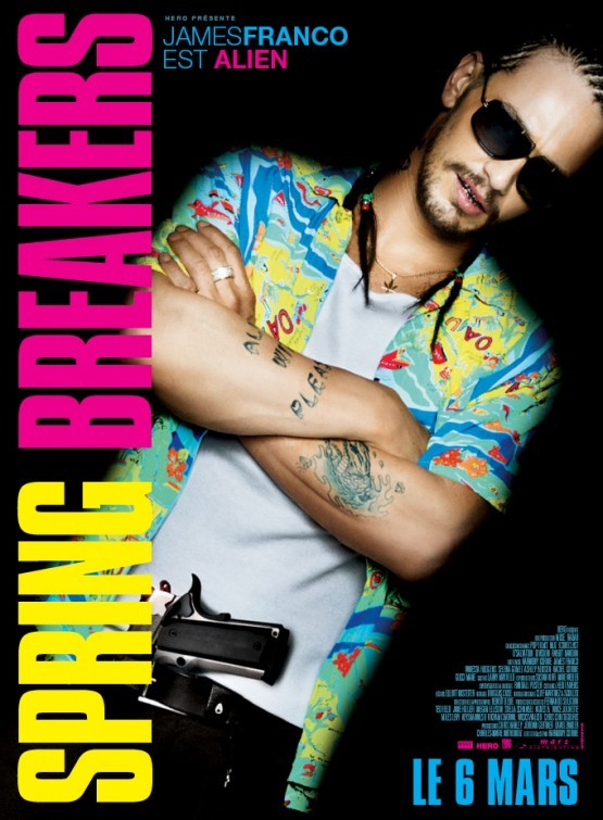 Spring Breakers: Character Poster francese per James Franco