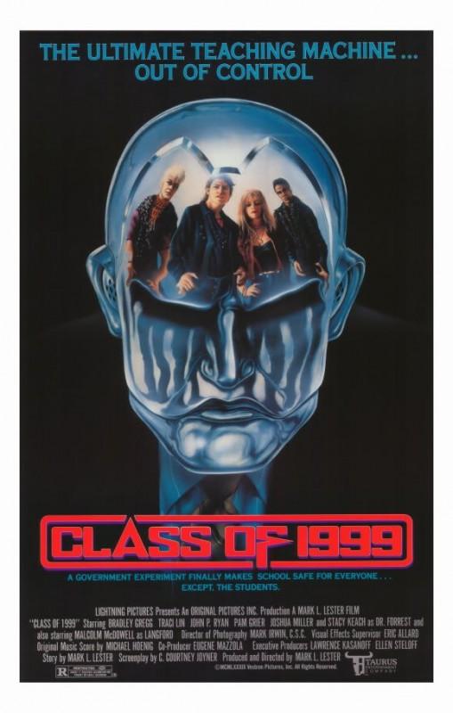 Classe 1999: la locandina del film