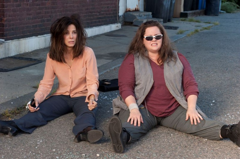 Corpi da reato: Sandra Bullock insieme a Melissa McCarthy in una divertente scena