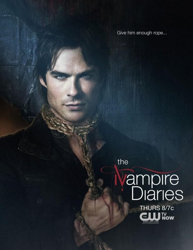 The Vampire Diaries: nuovo poster per la stagione 4 della serie CW