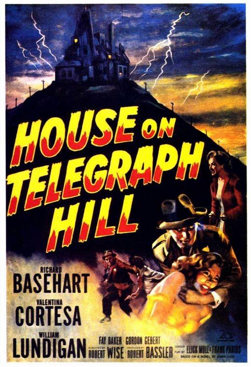 Poster originale di The House on Telegraph Hill