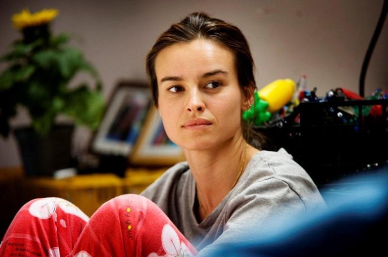 Tutti contro tutti: Kasia Smutniak in una scena del film