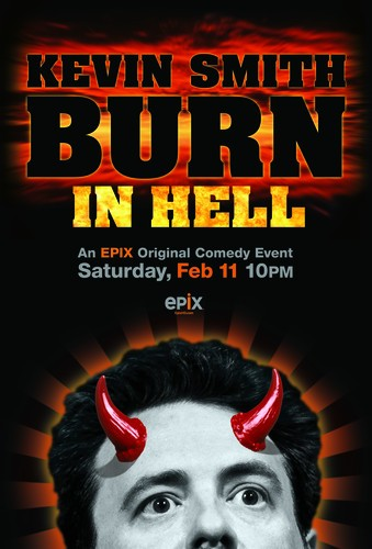 Kevin Smith Burns in Hell: la locandina del film