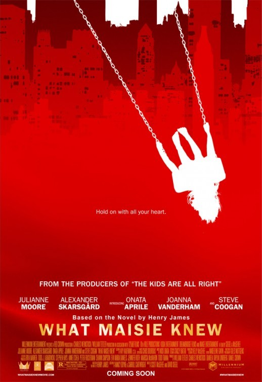 What Maisie Knew: la locandina del film