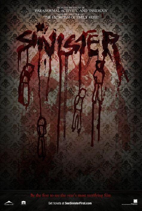 Sinister: uno dei poster USA del film