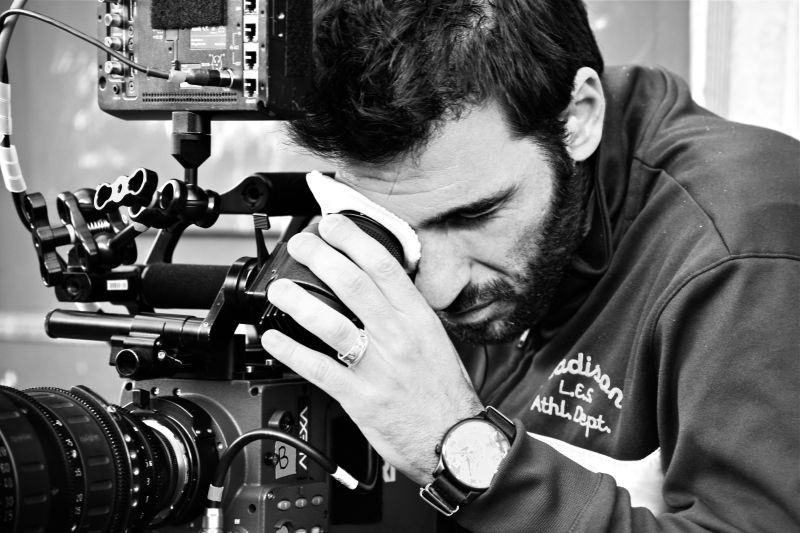 Buongiorno papà: il regista Edoardo Leo sul set