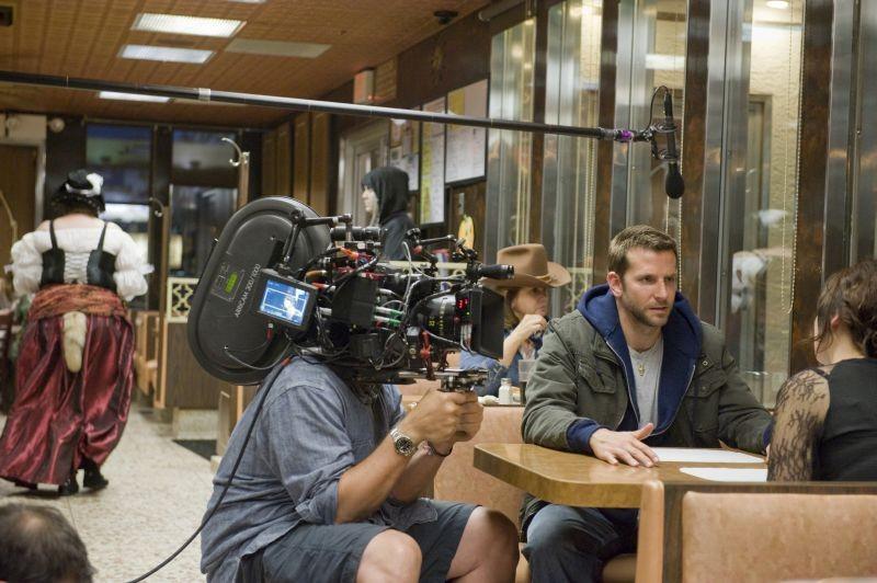 Il lato positivo - Silver Linings Playbook: Bradley Cooper sul set con Jennifer Lawrence