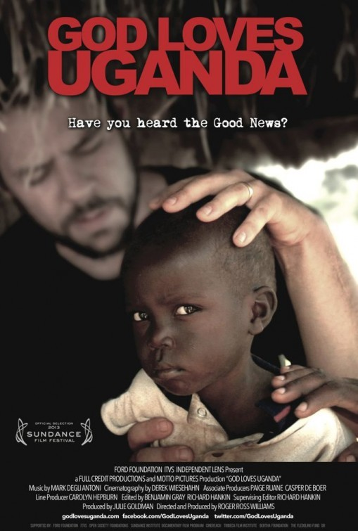 God Loves Uganda: la locandina del film