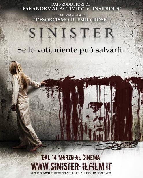 Sinister: la locandina elettorale con Berlusconi