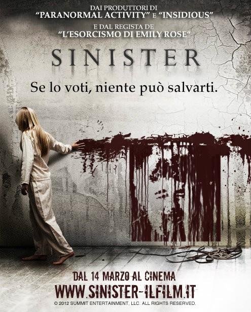 Sinister: la locandina elettorale con Grillo