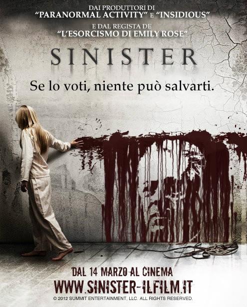 Sinister: la locandina elettorale con Mario Monti