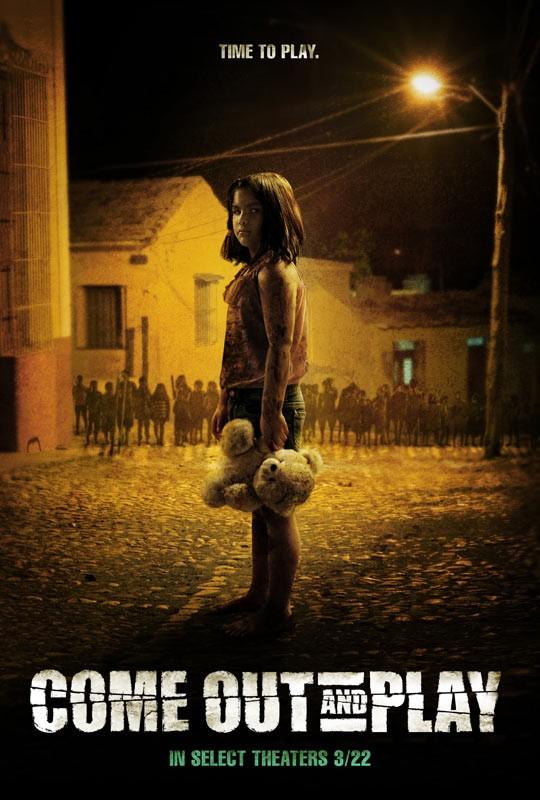 Come Out and Play: la locandina del film