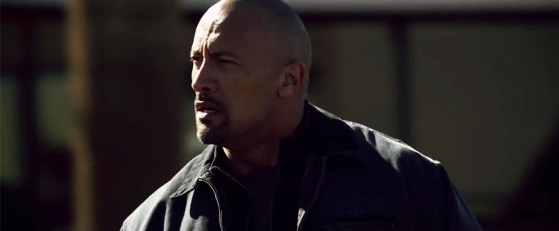Dwayne Johnson nel film Snitch