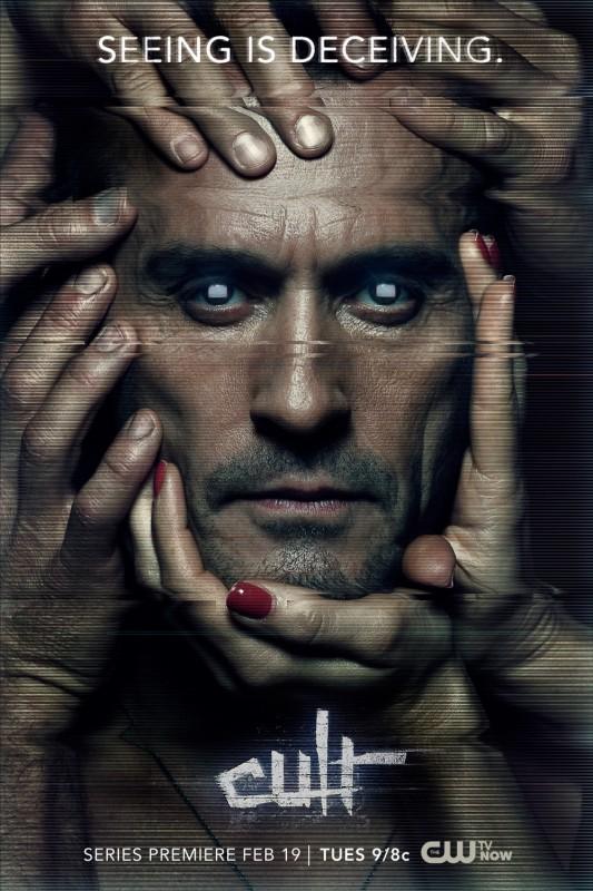 Cult: un poster della serie CW
