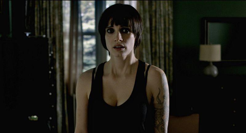 La madre: lo sguardo terrorizzato di Jessica Chastain in una scena del film
