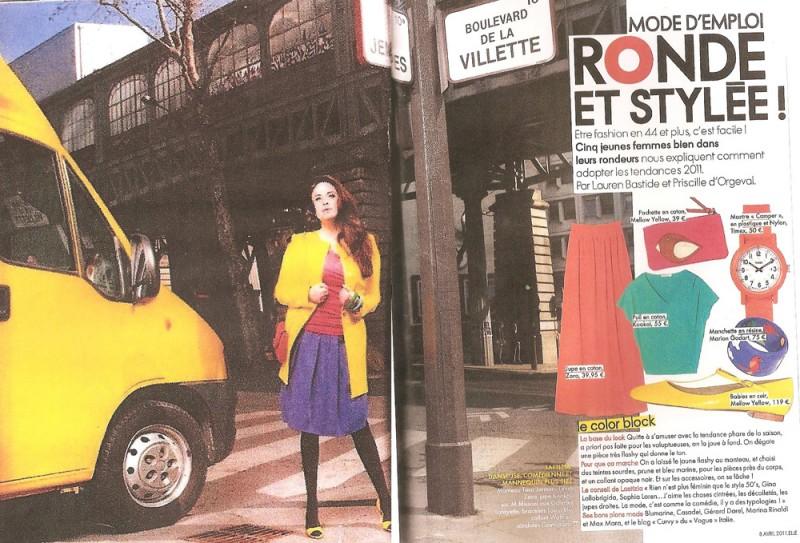 Letizia Raco su Elle France