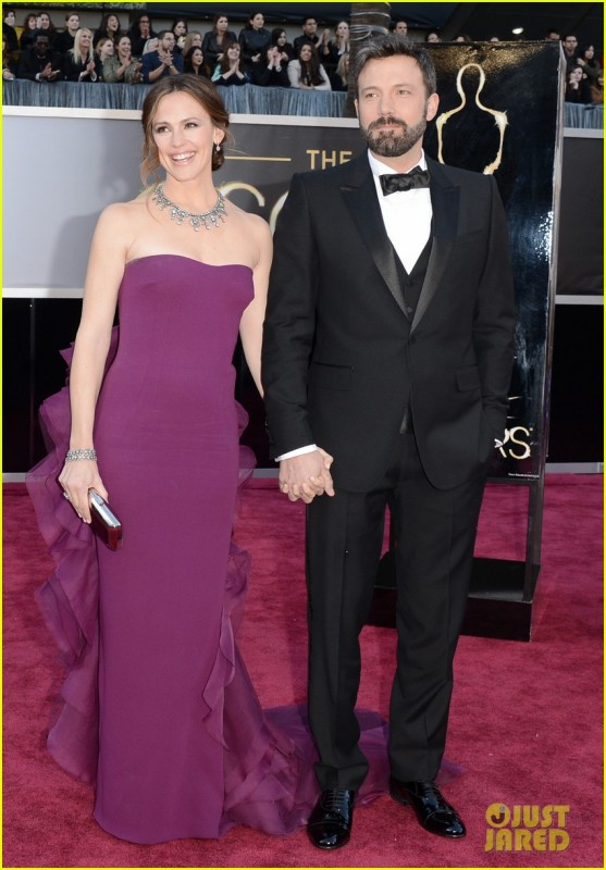 Oscar 2013: Ben Affleck e Jennifer Garner sul red carpet