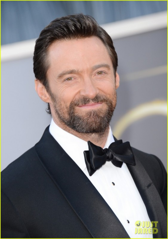 Oscar 2013: Hugh Jackman sul red carpet