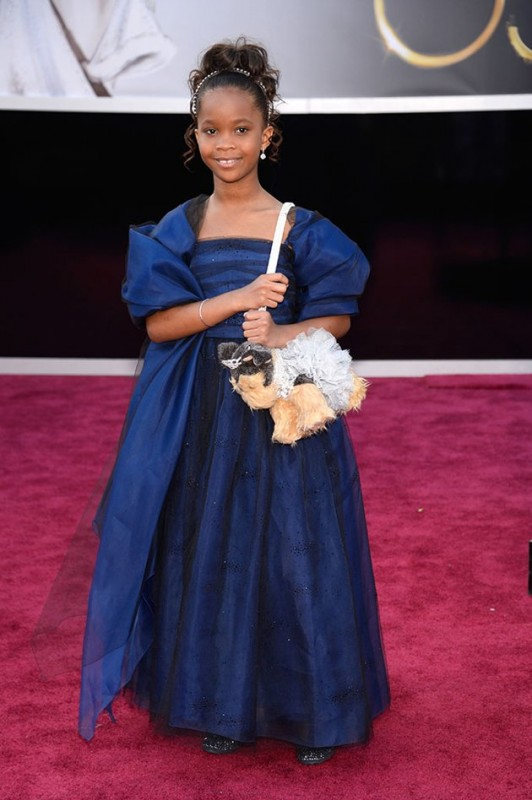 Oscar 2013: nove anni, Quvenzhané Wallis approda così al Dolby Theater