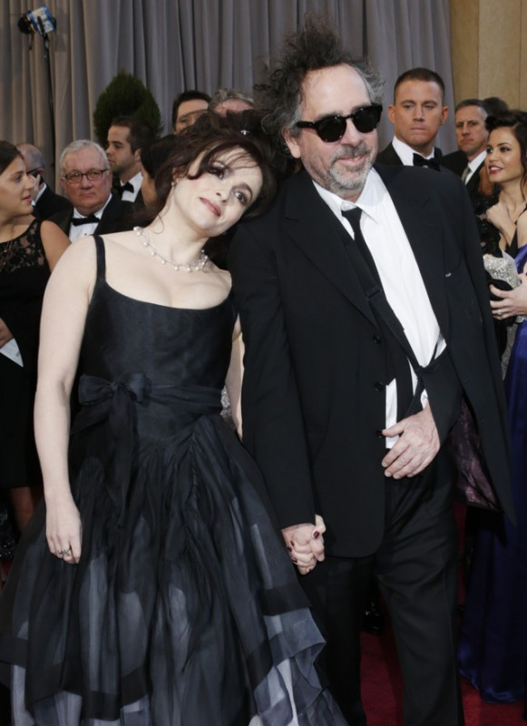 Oscar 2013: Tim Burton ed Helena Bonham Carter sul red carpet