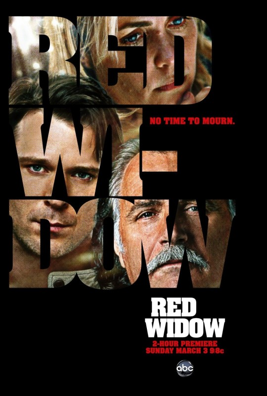 Red Widow: uno dei poster della serie ABC