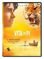 La copertina di Vita di Pi (dvd)