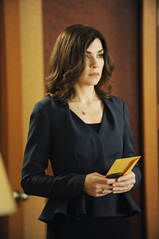 The Good Wife: Julianna Margulies nell'episodio And The Law Won