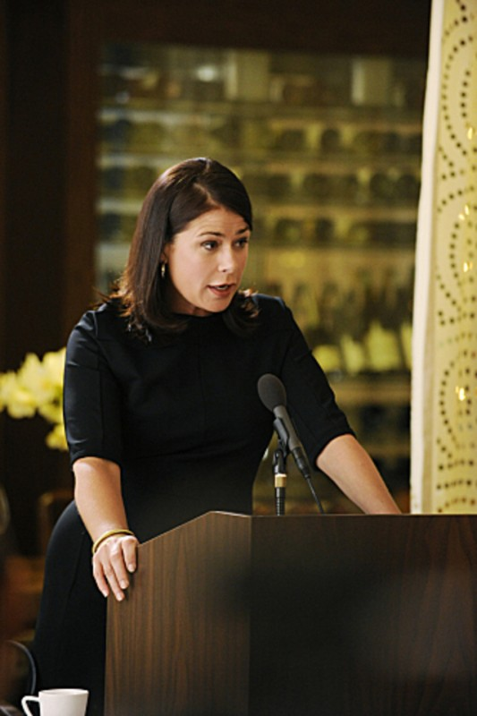 The Good Wife: Maura Tierney nell'episodio And The Law Won