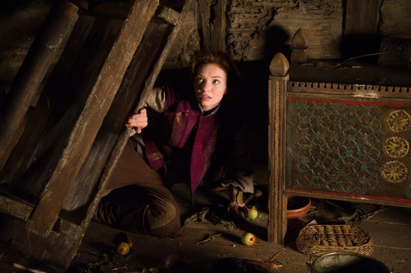 Il cacciatore di giganti: Eleanor Tomlinson nei panni della principessa Isabelle in una scena