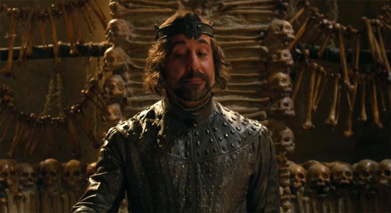 Il cacciatore di giganti: Stanley Tucci nei panni di Lord Roderick in una scena