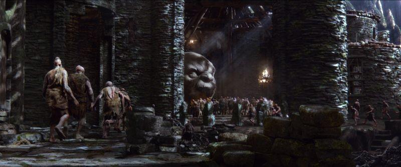 Il cacciatore di giganti: una scena del film fantasy di Bryan Singer
