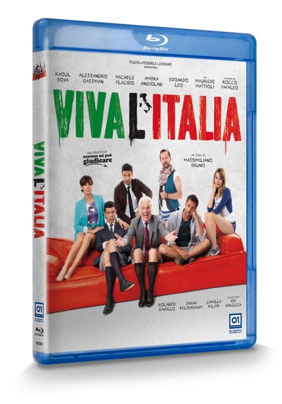 La copertina di Viva l\'Italia (blu-ray)