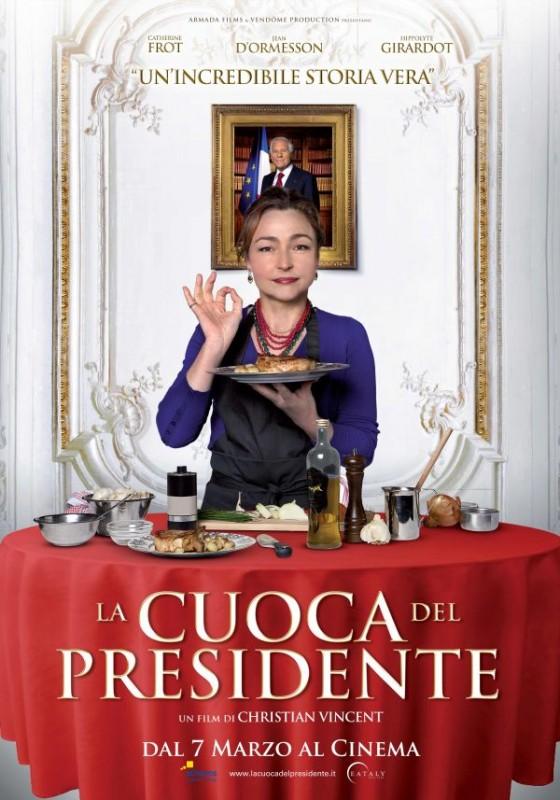 La cuoca del presidente: la locandina italiana